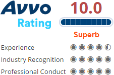 houston criminal defense attorney - avvo 10 rating